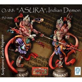 Figurine de ASURA, démon Indien en 90mm Alexandros Models.