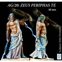 Figurine de Zeus en 80mm Alexandro Models.