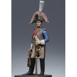 METAL MODELES,Napoleonic figure kits 54mm.Trumpeter, mounted grenadiers of the Guard.