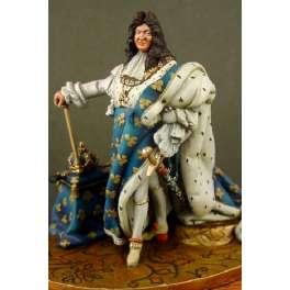 Masterclass 54mm figurine de Louis XIV.