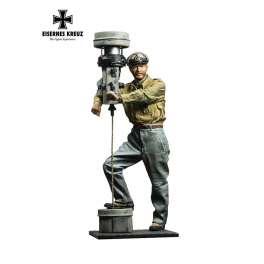 Figurine de commandant de U Boat 1941 Andrea 54mm.