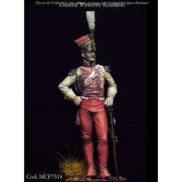 Figurine du Général Wincenty Krasinski 75mm Masterclass.