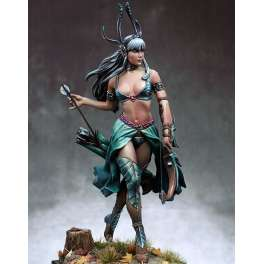 Tarathiel MoonElf, Fantastic figure kits by Pegaso 75mm.