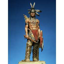Indian figure kits, Black Foot Warrior 75mm.