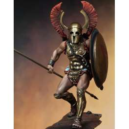 Spartan Oplite, historical figure kits 75mm Pegaso Models.