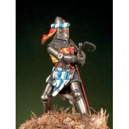 54mm.Pegaso models figure kits.German knight 1350-1370.