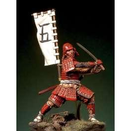 Figurine de collection Pegaso Model 54mm. Guerrier Samouraï 1568-1600.