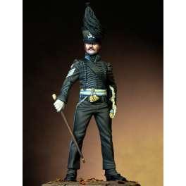 Figure kits.Sergeant Major of 'Leib Batallion', Duke of Brunswick, 1815.