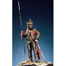 Figurine Pegaso models 54mm Hussard Russe régiment Akhtyrka 1812