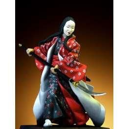 Pegaso models.54mm.Femme Samouraï1600-1867.