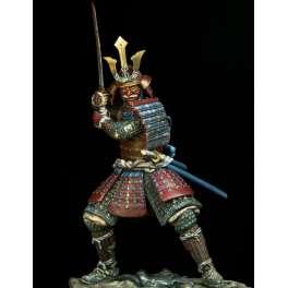 Pegaso Models 75mm Figurine de Samouraï XVIe-XVIIe siècle à monter et à peindre.