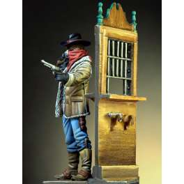 54mm Figure kits.Western Robber.