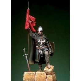 Pegaso models figure kits,St. John Order Knight with flag, first half XIII c.