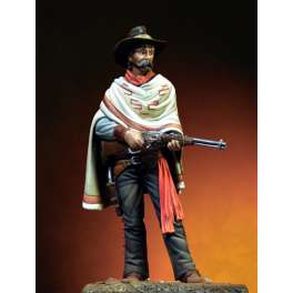 Pegaso models.54mm.figurine de Cow Boy avec Winchester.