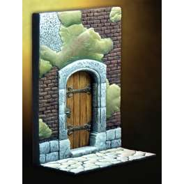 Pegaso models.Medieval house door.54mm.