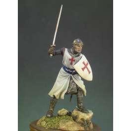 Andrea Miniatures 54mm Figurine de Chevalier Templier 1200.