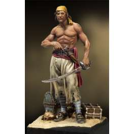 Andrea miniatures,54mm.Pirate figure kits.Pirate of Tortuga,1660´s.