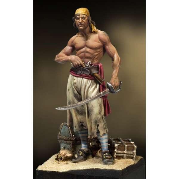 Andrea miniatures 54mm Pirate des caraïbes .-figurine à peindre-