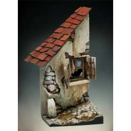 Andrea miniatures,54mm.Ruined House.
