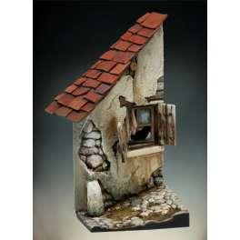 Andrea Miniatures 54mm.Maison en Ruine.