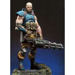 Andrea miniatures,1/32. Gabriel Blackburn, Serpentia Commando.