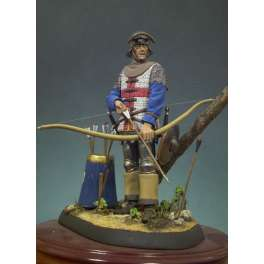 Andrea minoatures,90mm.English Archer (1475) figure kits.