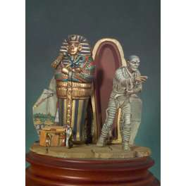 Andrea miniatures,54mm.The Egyptian Mummy figure kits.
