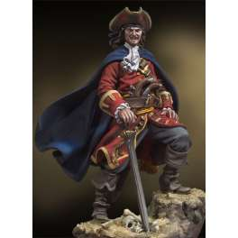 Figurine Andrea miniatures 54mm Pirate des caraïbes ,Henry Morgan,1670.