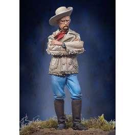 Figurine Andrea miniatures 54mm.Custer 7ème de Cavalerie 1876.