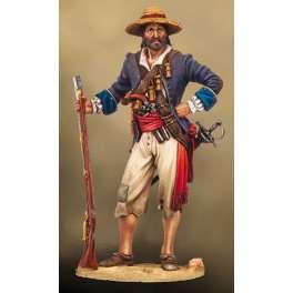 Andrea Miniatures 54mm figure kits,Buccaneer, Portobello 1668.