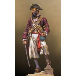 Andrea miniatures,54mm.Pirate figure kits.Blackbeard, 1680-1718.