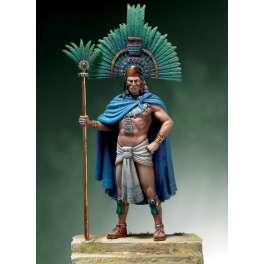 Andrea miniaturen,historische figuren 54mm.Montezuma II 1520.