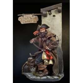 Figurine de Pirate des caraïbes Port Royal Andrea 54mm.