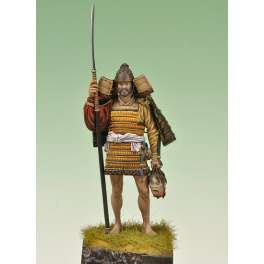Andrea miniatures, 75 mm figure kits.Provincial Samurai 1160.
