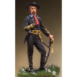 Andrea miniatures,54mm.B. General G.A. Custer, 1863 figure kits.
