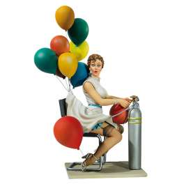 Pin Up Andrea Miniatures Qui veut des ballons...80mm