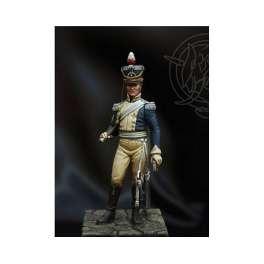 Figurine  sergent major - Light Dragoon 1812-1815  Romeo Models 54mm