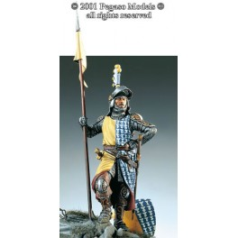 54mm.Pegaso figure kits,Siennese knight 1260.