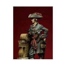 "Romeo Models 75mm figuren.Pirat Jack Rackham ""Calico Jack"".1720."