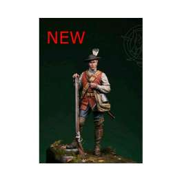 Romeo Models 75mm figuren.Musketier.