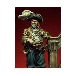 Romeo Models,75mm, Quartermaster - XVII Century  figure kits.