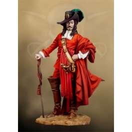 Figurine Andrea Miniatues 54mm. Pirate François L'Olonnais.