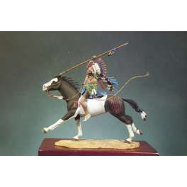 Andrea miniatures,54mm.Sioux Chief figure kits.