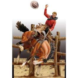 Andrea miniatures,54mm.Bronco Billy,1880 figure kits.