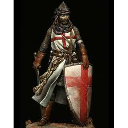 Historical figure kits.Templar Knight 75mm Pegaso Models.