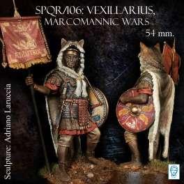 Figurine de vexillarius 54mm Alexandros Models.