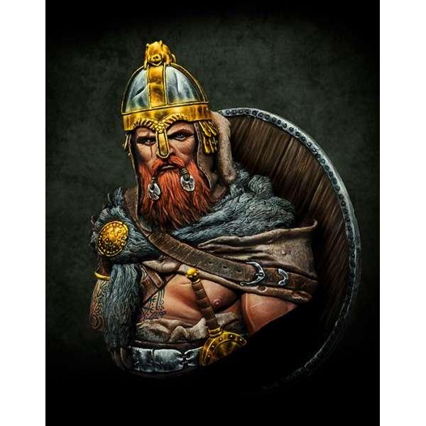Buste guerrier Celte au 1/9ème Pegaso Models.