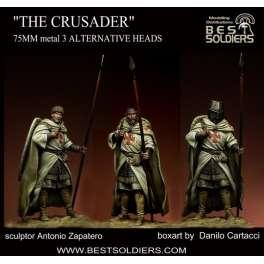 Figurine de chevalier croisé 75mm Bestsoldiers.