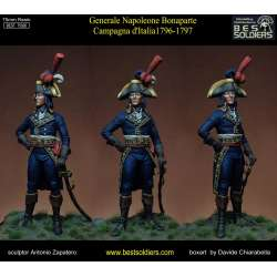 Figurine de Bonaparte en 1796-97 bestsoldiers 75mm.