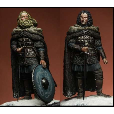 Figurine de roi Viking 75mm Bestsoldiers.